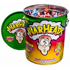 WarHeads Lollies Metal Tin